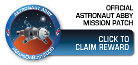 Claim your mission patch now