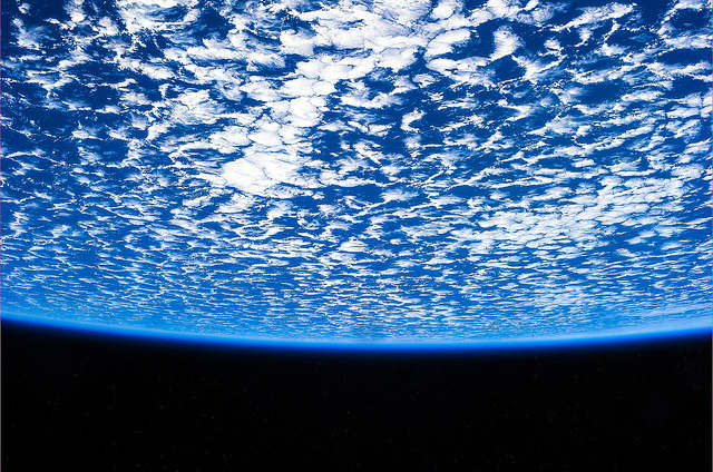 ISS Sky Picture Luca Parmitano