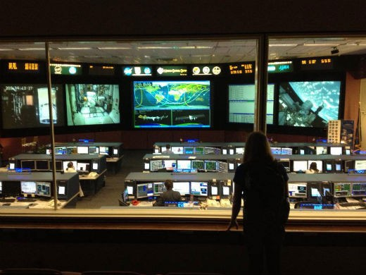 Mission Control Center at JSC.
