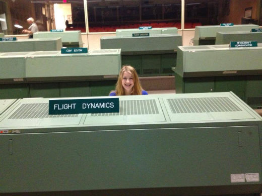 Mission Control Center from the 60s - 90s at JSC.