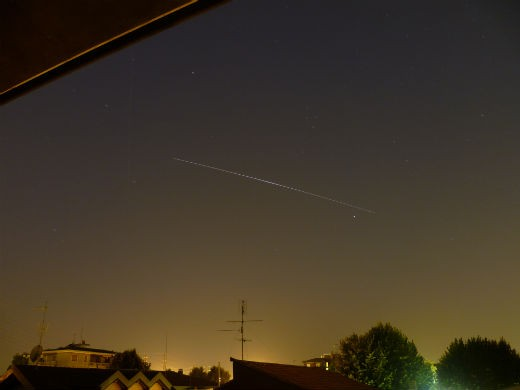 """""""05 August 2013 at 5.00 a.m. in Settimo Milanese, country of Milano, Italy . With digital camera , ISO 80 , 1 min exposition."""""""