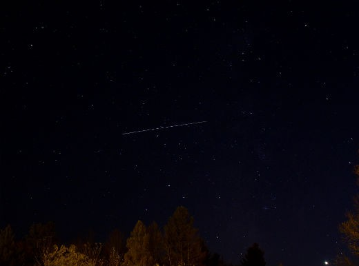 """""""ISS Over Knowlton Quebec."""" - Justin"""