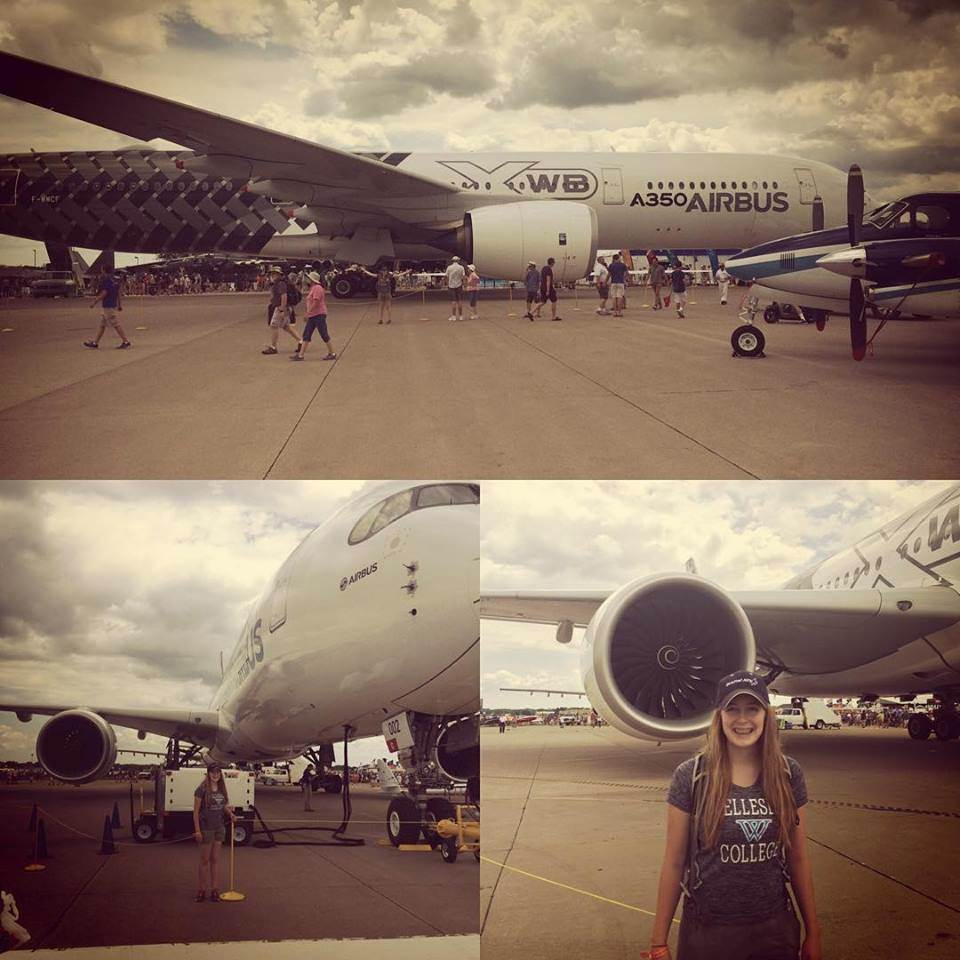 A350 Airbus at EAA AirVenture