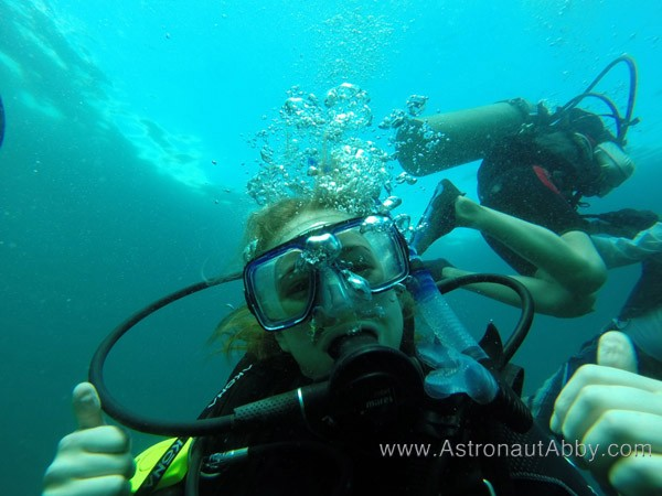 PADI Certification For Astronaut Application