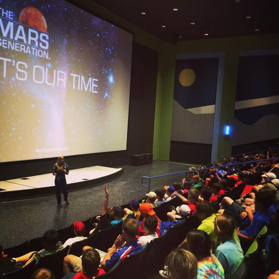 space camp inspirational speaker