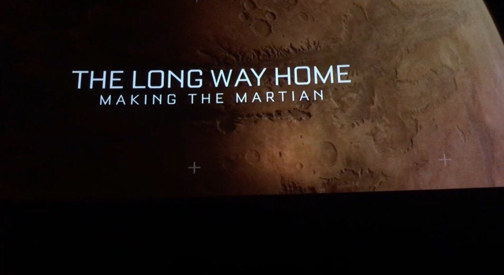 Special Features Making The Martian