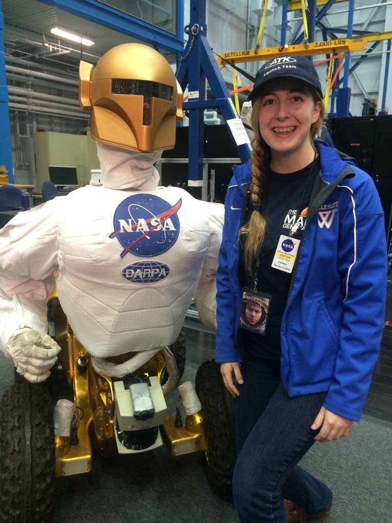 Robonaut Generation 1 The Martian Astronaut Abby