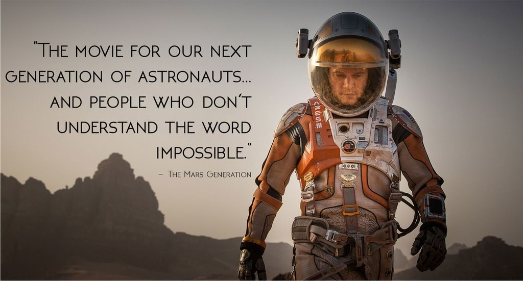 The Martian Movie Opening