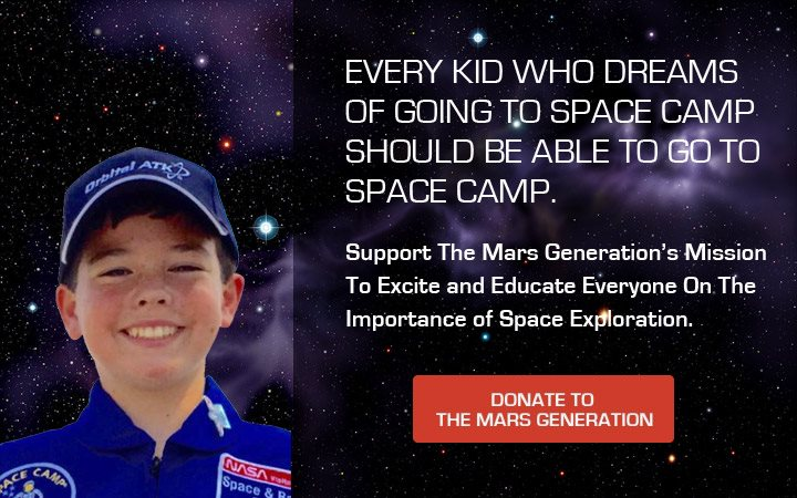 Give to Mars Day - Astronaut Joey