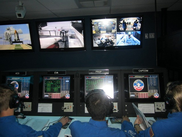 Space Camp Simulation
