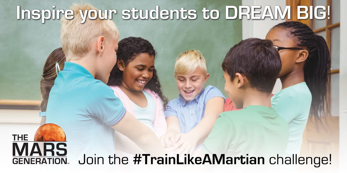 Train Like A Martian Schools Astronaut