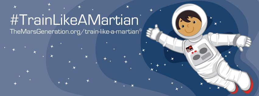 Train like a martian astronaut